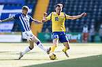 Kilmarnock v St Johnstone……15.08.20   Rugby Park  SPFL<br />Liam Craig and Alan Power<br />Picture by Graeme Hart.<br />Copyright Perthshire Picture Agency<br />Tel: 01738 623350  Mobile: 07990 594431