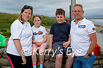 The Linzell family from Kenmare enjoying Ballyheigue beach on Sunday, l to r: Helen, Emma, Luke and Owen Linzell.