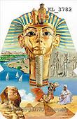Interlitho, Luis, FANTASY, paintings, tutenchamun, egypt, KL, KL3782,#fantasy# illustrations, pinturas