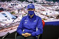 23rd September 2021; Sochi, Russia;   F1 Grand Prix of Russia 47 Mick Schumacher GER, Haas F1 Team, F1 Grand Prix of Russia at Sochi Autodrom   driver press conference