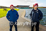 Enjoying a stroll in the Tralee Bay Wetlands on Thursday, l to r: Eoin Hand and James Culloty.