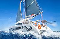 Catamaran Excess 12 Sea Trial