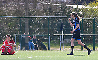 Marie Minnaert (13) of Club Brugge pictured celebrating  after scoring a goal during a female soccer game between Club Brugge Dames YLA and Standard Femina de Liege on the 17 th matchday of the 2020 - 2021 season of Belgian Scooore Womens Super League , saturday 20 March 2021  in Brugge , Belgium . PHOTO SPORTPIX.BE   SPP   DAVID CATRY