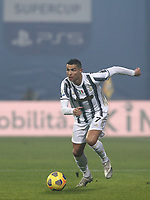 Football: Super Cup Final Juventus vs Napoli at Mapei Stadium in Reggio Emilia, on January 20,  2021.<br /> Juventus' Cristiano Ronaldo in action during the Italian Super Cup Final match between Juventus and Napoli at Mapei Stadium in Reggio Emilia, on January 20,  2021.<br /> UPDATE IMAGES PRESS/Isabella Bonotto