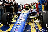 Alexander Rossi, Andretti Autosport's Honda in victory lane