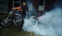 Harley Davidson Motorcycle  Mandatory Credit: Mark J. Rebilas.
