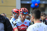 Ilnur Zakarin (RUS) Team Katusha Alpecin at sign on before the start of the 99th edition of Milan-Turin 2018, running 200km from Magenta Milan to Superga Basilica Turin, Italy. 10th October 2018.<br /> Picture: Eoin Clarke | Cyclefile<br /> <br /> <br /> All photos usage must carry mandatory copyright credit (© Cyclefile | Eoin Clarke)
