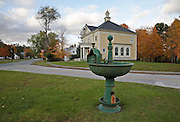 Guildhall Town Common during the autumn months in Guildhall, Vermont USA.