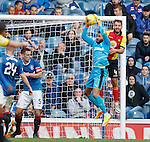 Wes Foderingham saves from Sean Welsh