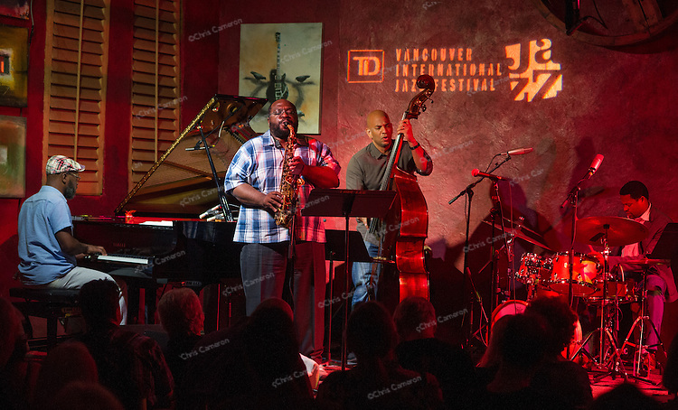 Darius Jones Quartet featuring Tarbaby plays IronWorks, June 27, 2014 TD Vancouver International Jazz Festival