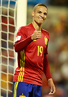 Spain's Rodrigo Moreno during FIFA World Cup 2018 Qualifying Round match. October 6,2017.(ALTERPHOTOS/Acero) /NortePhoto.com /NortePhoto.com
