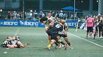 Penguins vs Tradition YCAC  GFI HKFC Rugby Tens 2016 on 07 April 2016 at Hong Kong Football Club in Hong Kong, China. Photo by Marcio Machado / Power Sport Images