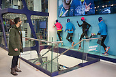 Japanese sportswear brand ASICS flagship London store, Oxford Street.