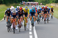 2nd July 2021; Le Creusot, France;  NIBALI Vincenzo (ITA) of TREK - SEGAFREDO, SWEENY Harrison (AUS) of LOTTO SOUDAL and VAN DER POEL Mathieu (NED) of ALPECIN-FENIX during stage 7 of the 108th edition of the 2021 Tour de France cycling race, a stage of 249,1 kms between Vierzon and Le Creusot