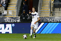 Chester, PA - Friday December 08, 2017: Daniel Strachan The Stanford Cardinal defeated the Akron Zips 2-0 during an NCAA Men's College Cup semifinal match at Talen Energy Stadium.