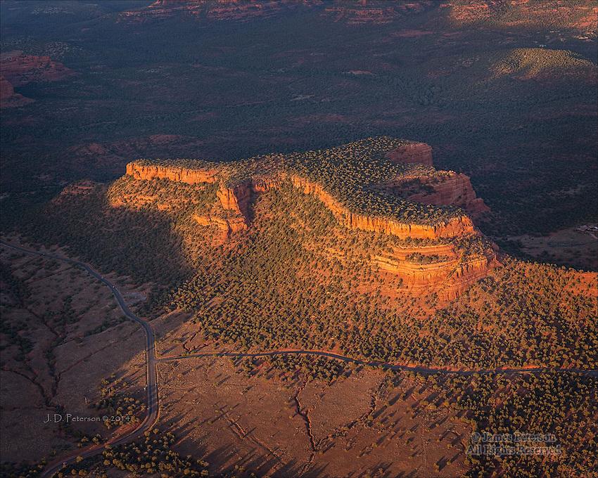 Doe Mountain, Northwest of Sedona, Arizona