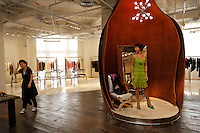 Fashion store Thre3 run by Lin Jing (Mobile is +86 137 0194 9780 email linjing@on-the-bund.com) 2F No. 3 Zhong Shan Dang Yi Road Shanghai 200002 China. Rachel is buying clothes because they are up to 70 percent off in her friends store. Rachel Zhu is RELEASED.