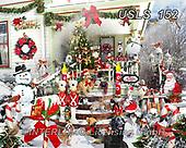 Lori, CHRISTMAS LANDSCAPES, WEIHNACHTEN WINTERLANDSCHAFTEN, NAVIDAD PAISAJES DE INVIERNO, paintings+++++Christmas Porch_72_WM,USLS152,#xl#