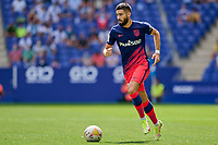 12th September 2021: Barcelona, Spain:  Yannick Carrasco of Atletico de Madrid during the Liga match between RCD Espanyol and Atletico de Madrid at RCDE Stadium in Cornella, Spain.