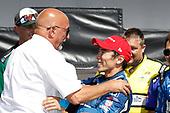 Bobby Rahal, Takuma Sato, Rahal Letterman Lanigan Racing Honda, podium