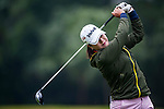 Hye-Jung Choi of Korea  plays a shot during the Hyundai China Ladies Open 2014 on December 12 2014 at Mission Hills Shenzhen, in Shenzhen, China. Photo by Xaume Olleros / Power Sport Images