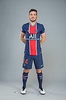 14th October 2020, Paris, France; Official League 1 player portrait for Paris Saint Germain;  FLORENZI Alessandro