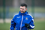 St Johnstone Training…….14.02.20<br />Jason Holt pictured during this morning's training session at McDiarmid Park ahead of tomorrows game against Ross County.<br />Picture by Graeme Hart.<br />Copyright Perthshire Picture Agency<br />Tel: 01738 623350  Mobile: 07990 594431