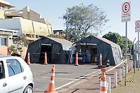 Campinas (SP), 21/06/2020 - Unicamp - Tenda de pré atendimento do Covid-19 no Hospital de Clinicas (HC) da Unicamp, localizado na cidade de Campinas, interior de São Paulo.