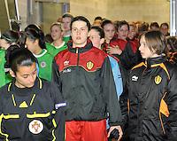 UEFA Women's Euro Qualifying group stage (Group 3) -  KFC Dessel - Armand Melis Stadion : BELGIUM -Northern Ireland ( Belgie - Noord Ierland ) : Heleen Jaques..foto DAVID CATRY / Vrouwenteam.be / Loft6.be
