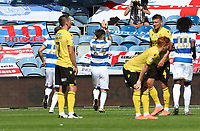 second goal scored for Queens Park Rangers by Ryan Manning of Queens Park Rangers as he celebrates during Queens Park Rangers vs Millwall, Sky Bet EFL Championship Football at Loftus Road Stadium on 18th July 2020