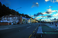 Hutt Road, Wellington CBD at 7.15am, Wednesday during Level 4 lockdown for the COVID-19 pandemic in Wellington, New Zealand on Thursday, 19 August 2021.