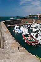 Europe/France/Aquitaine/64/Pyrénées-Atlantiques/Pays-Basque/Biarritz: Le Port des Pëcheurs, ou Port Vieux