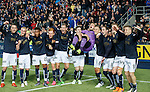 Falkirk celebrate at full-time