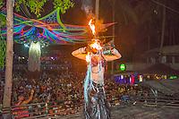 Thailand, Koh Phangan Island. Half moon party.