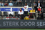 NED - Amsterdam, Netherlands, August 20: During the men Pool B group match between Germany (white) and Ireland (green) at the Rabo EuroHockey Championships 2017 August 20, 2017 at Wagener Stadium in Amsterdam, Netherlands. Final score 1-1. (Photo by Dirk Markgraf / www.265-images.com) *** Local caption ***