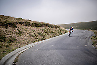 Niklas Eg (DEN/Trek-Segafredo) coming down the Port de Balès (HC climb)<br /> <br /> Stage 8 from Cazères to Loudenvielle (141km)<br /> <br /> 107th Tour de France 2020 (2.UWT)<br /> (the 'postponed edition' held in september)<br /> <br /> ©kramon