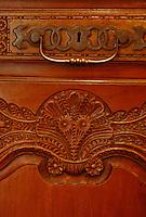 Europe/France/Ile-de-France/77/Seine-et-Marne/Saint-Cyr-sur-Morin: Musée des pays de Seine-et-Marne - Buffet carré de style briard