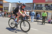 TUNJA - COLOMBIA, 11-02-2020: Cameron Piper (TEAM ILLUMINATE, USA) durante la primera etapa del Tour Colombia 2.1 2020 con un recorrido de 16,7 km CRE, que se corrió con salida y llegada enTunja, Boyacá. /  Cameron Piper (TEAM ILLUMINATE, USA) during the first stage of 16,7 km TTT of Tour Colombia 2.1 2020 that ran with start and arrival in Tunja, Boyaca.  Photo: VizzorImage / Darlin Bejarano / Cont