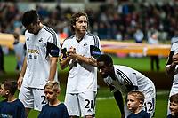 Thursday 24 October 2013  <br /> Pictured: Jose Canas<br /> Re:UEFA Europa League, Swansea City FC vs Kuban Krasnodar,  at the Liberty Staduim Swansea