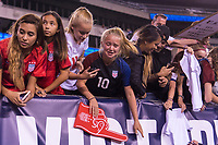 PHILADELPHIA, PA - AUGUST 29: Fans cheer during a game between Portugal and the USWNT at Lincoln Financial Field on August 29, 2019 in Philadelphia, PA.