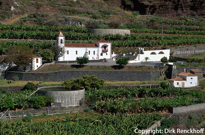 Spanien, Kanarische Inseln, La Palma, Kirche von Angustias im Aridane-Tal