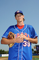 Auburn Doubledays pitcher Brett Mooneyham (39) during game against the Staten Island Yankees at Richmond County Bank Ballpark at St.George on August 2, 2012 in Staten Island, NY.  Auburn defeated Staten Island 11-3.  Tomasso DeRosa/Four Seam Images