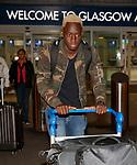 Dalcio Gomes arriving in Glasgow