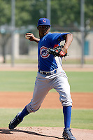 Alberto Cabrera - Chicago Cubs 2009 Instructional League. .Photo by:  Bill Mitchell/Four Seam Images..