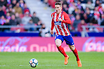 Kevin Gameiro of Atletico de Madrid in action during the La Liga 2017-18 match between Atletico de Madrid and RC Celta de Vigo at Wanda Metropolitano on March 11 2018 in Madrid, Spain. Photo by Diego Souto / Power Sport Images
