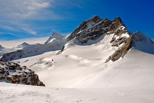 Jungfrau Sumit, Swiss Alps Switzerland