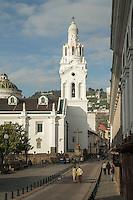 La Iglesia de El Sagrario, El Sagrario Chapel, Ecuador, South America