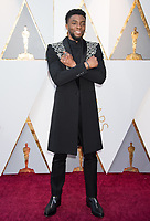04 March 2018 - Hollywood, California - Chadwick Boseman. 90th Annual Academy Awards presented by the Academy of Motion Picture Arts and Sciences held at Hollywood & Highland Center. Photo Credit: A.M.P.A.S./AdMedia