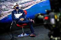 23rd September 2021; Sochi, Russia;   F1 Grand Prix of Russia 22 Yuki Tsunoda JPN, Scuderia AlphaTauri Honda, F1 Grand Prix of Russia at Sochi Autodrom   driver press conference