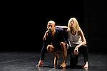 TRANSMUT 2 SOLI....Choregraphie : AGRAPART Marie Laure..Mise en scene : AGRAPART Marie Laure..Compagnie : Marie Laure Agrapart et cie..Lumiere : TUDOCE Vincent..Avec :..CANTIN Aurelie..FORLEO Roberto..Lieu : Centre National de la danse..Ville : Pantin..Le : 01 12 2010..© Laurent PAILLIER / photosdedanse.com..All rights reserved